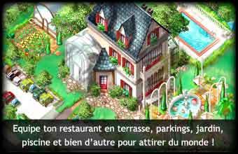 jeux en ligne restaurant